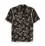 Scotch & Soda detail shirt zwart