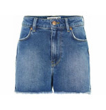 Cost:bart spijkershort sandie mom fit denim blauw