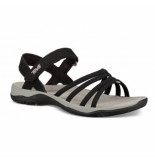 Teva Women elzada sandal web black zwart