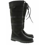 Dubarry Hoge laarzen galway all black zwart
