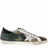 Golden Goose Deluxe Brand Sneakers superstar g32ms590 groen