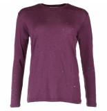 IRO T-shirt marvina bordo rood
