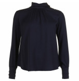 Mauro Grifoni Blouse 22001 blauw