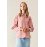 Ganni Blouse f3045 roze