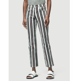 FRAME Broek le sylvie band stripe