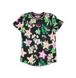 Ai & Ko Shirt korte mouw alicia crocus zwart
