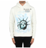 Off White Liberty hoodie wit