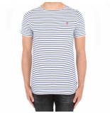 G-Star Dry jersey ba stripe blauw