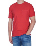 Superdry Dry originals ss pocket tee rood