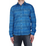 Pearly King Barnes shirt blauw
