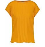 Taifun T-shirt short-sleeve curry 371114-16402