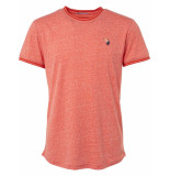 No Excess T-shirt s/sl, r-neck, recycle jerse red rood