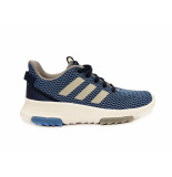 Adidas Sneakers cf racer kids blauw
