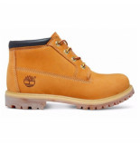 Timberland Nellie chukka double womens wheat nubuck with black collar bruin