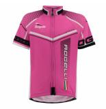 Rogelli Meisjes fietsshirt gara mostro roze