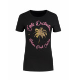 Nikkie Exotic destinations t-shirt zwart