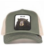 Goorin Bros. Drew bear baseball groen