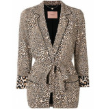 Twin-set 191tp2700 blazer dierenprint