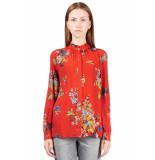 SET 62866 5050701 blouse rood