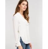 Repeat 600201 blouse ecru wit
