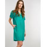 Repeat 600218 jurk groen
