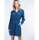 Repeat 600199 jurk blauw