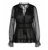 Marc Cain Lc 51.02 w59 blouse zwart