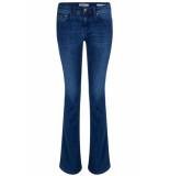 Lois Leia teal melrose flare jeans -w25 denim