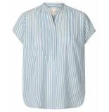 Lollys Laundry 19154-5077 blouse blauw