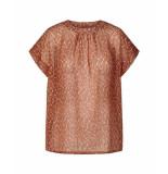 Lollys Laundry 19138 1025 deva blouse bloemenprint rood