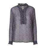 Lollys Laundry 19157 5049 franka blouse / print paars