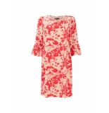 No One Else 01311 maartje jurk rood roze
