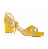 Unisa Sandaal bandje enkel geel