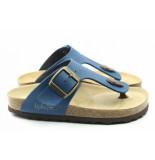 Kipling Juan slipper slipper blauw