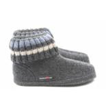Haflinger Paul 631051 pantoffel antraciet