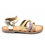 Gioseppo Naarden sandaal goud