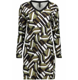 IZ NAIZ Dress jogg 3566 graphic camo groen