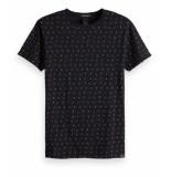 Scotch & Soda T-Shirt zwart