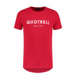 Quotrell Tee brand t-shirt – rood/wit