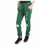 Zoe Karssen Pom pom squad sweatpants groen