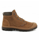 Palladium Pampa lo cuff sue brown sugar/slate black bruin