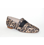 Paul Green artikelnummer 2462 loafer leopard print
