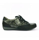 Waldläufer Sneakers zwart