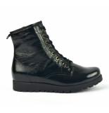Waldläufer Boots zwart