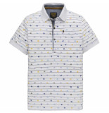 PME Legend Short sleeve polo single jersey bright white wit