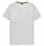 PME Legend Short sleeve r-neck single jersey bright white wit