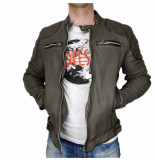 Goosecraft Jacket982 charcoal grijs