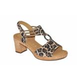Gabor Gabor artikelnummer 22.775-90 sandaal ophakje leopard print