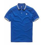 G-Star Dunda slim stripe polo s/s d13325-5864-2727 blauw