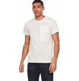 G-Star Arris pocket tee off white ecru